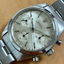 Rolex Chronograph Zeljezo 36mm Siv Bez brojeva