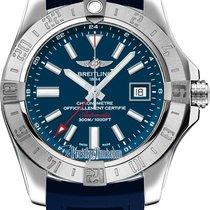 Breitling Avenger II GMT Steel 43mm Blue