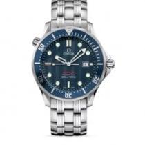 Omega 2221.80.00 Steel 2012 Seamaster Diver 300 M 41mm pre-owned