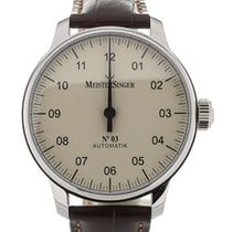 Meistersinger Nr 3 43 Automatic Leather