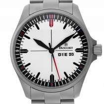 Damasko DA353 Stahl Automatik Armband Stahl 42mm Neu mit...
