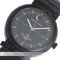IWC Kompass Porsche Design Mondphase Stahl 3551