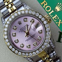 롤렉스 (Rolex) Ladies Rolex Steel And Gold 36mm Datejust Watch...