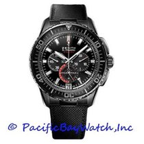 Zenith El Primero Stratos Flyback pre-owned 46mm Black Flyback Date Textile