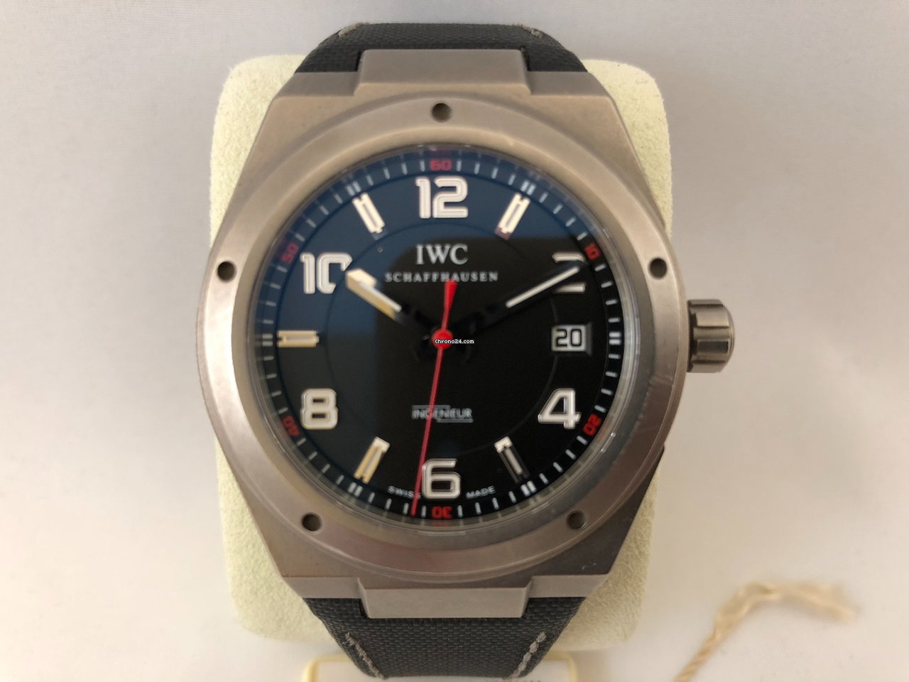 iwc ingenieur mercedes amg for 2 677 for sale from a trusted seller on chrono24. Black Bedroom Furniture Sets. Home Design Ideas