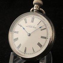 Waltham - Prachtig zilveren zakhorloge - Unisex - 1898