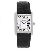 Cartier Tank Solo Steel Silver Dial Unisex Watch W1018355