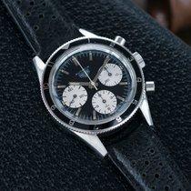 Heuer Autavia 2446 Rindt   steel vintage chronograph   Mark 3