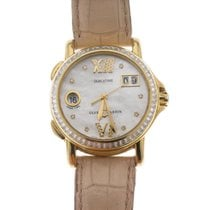 Ulysse Nardin Yellow gold Automatic Mother of pearl Roman numerals 38mm pre-owned San Marco