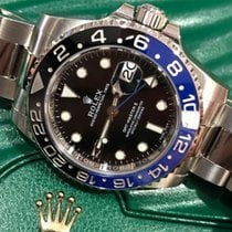 Rolex GMT-Master II 116710BLNR Batman Full Set