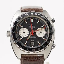 Heuer Steel Manual winding CRON-13 pre-owned United States of America, Colorado, Colorado Springs