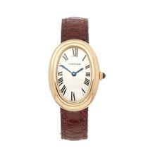 Cartier Baignoire brukt 22mm Gult gull