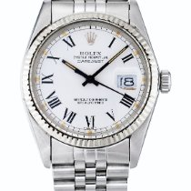 Rolex Datejust, Ref 16014 Stainless Steel And White Gold...
