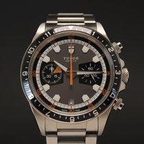 Tudor Heritage Chrono Steel 42mm No numerals