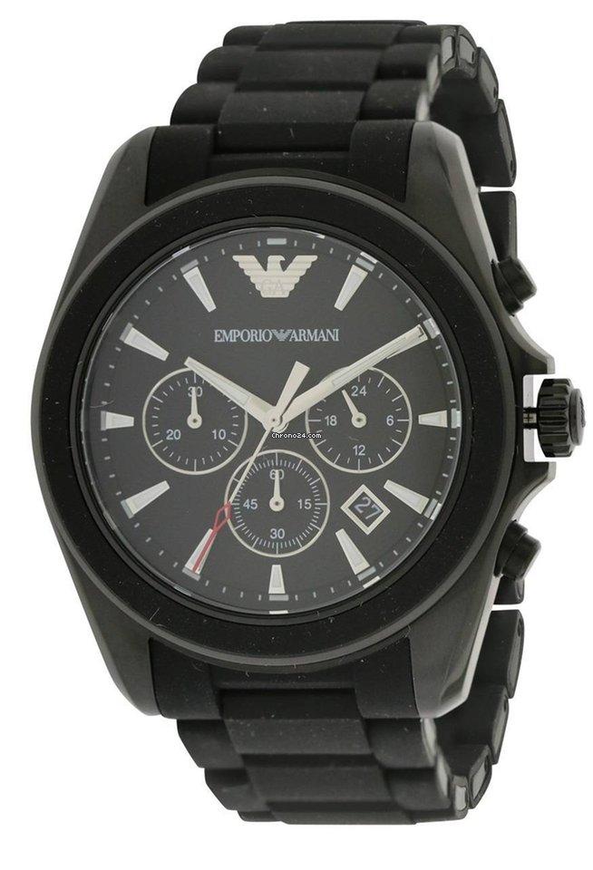 a6f91c65d90 Armani Sport Rubber Chronograph Mens Watch en venta por chil  168.984 por  parte de un Seller de Chrono24