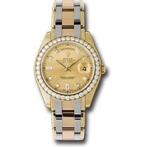 Rolex 39mm Automatic pre-owned Day-Date (Submodel) Champagne