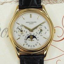 Patek Philippe 3940 Yellow gold 1988 Perpetual Calendar 36mm pre-owned