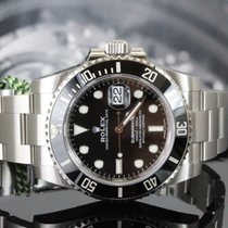 Rolex Steel Automatic Black No numerals 40mm new Submariner Date