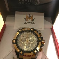Invicta Steel Quartz 13015 new