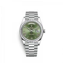 Rolex Platino Automático Verde 40mm nuevo Day-Date 40