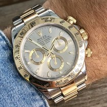 Rolex pre-owned Automatic 40mm Grey Sapphire Glass