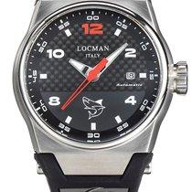 Locman Titanium 44mm Automatic 0556A09S-00CBRDSA new