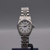 Rolex Oyster Perpetual Lady Date Stahl 26mm Weiß Schweiz, La Chaux-de-Fonds