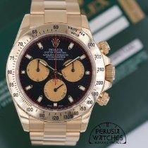 Rolex 116528 Zuto zlato 2013 Daytona 40mm rabljen