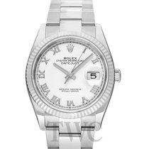 Rolex Lady-Datejust 126234 White Roman Oyster nuevo