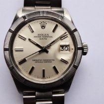 Rolex Oyster Perpetual Date Stahl 34mm Gold (massiv) Keine Ziffern