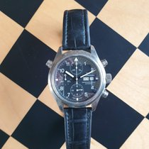 IWC Pilot Double Chronograph Staal 42mm Nederland, Haarlem