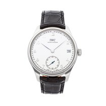 IWC Portuguese Hand-Wound IW5102-03 pre-owned