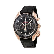 Omega 304.63.44.52.01.001 Or rose 2019 Speedmaster Professional Moonwatch Moonphase 44.25mm nouveau