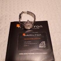 Hamilton Jazzmaster Lady Acier 30mm Nacre Sans chiffres