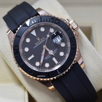 Rolex Yacht-Master 40 Rose gold 40mm Black No numerals United States of America, Virginia, Arlington