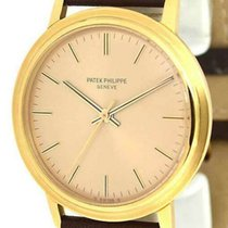Patek Philippe Yellow gold Automatic Champagne 35.5mm pre-owned Vintage