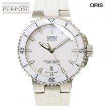 Oris Aquis Date 40mm White