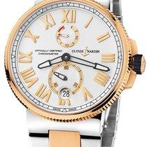 Ulysse Nardin Marine Chronometer Manufacture 1185-122-8M/41 2020 neu