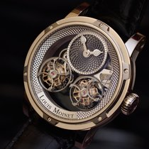 Louis Moinet Sideralis Rose gold 47,4mm No numerals