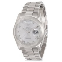 Rolex Day-Date 118209 Men's Watch in White Gold