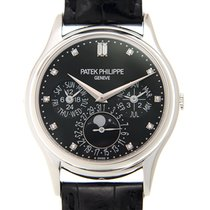 Patek Philippe Grand Complications White Gold Black Automatic...