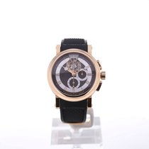 Breguet Rose gold Manual winding Black Roman numerals 42mm new Marine