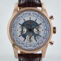 Breitling Transocean Chronograph Unitime, Mens, 18K Rose Gold,...