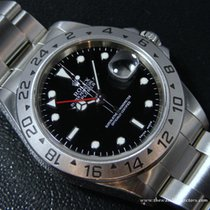 """Rolex Modern: Explorer II """"Ref.16570"""" Black  Série U 1997"""