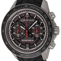Graham Silverstone RS Steel 44mm Black United States of America, Texas, Austin