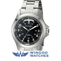 Hamilton Khaki Field King new 40mm Steel