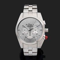 Dior Chiffre Rouge Steel 38mm Silver No numerals