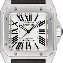 Cartier Santos 100 Steel 51.1mm White Roman numerals United States of America, New York, New York