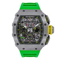 Richard Mille Automatic Flyback Chronograph Titanium