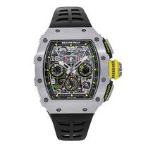 Richard Mille new Automatic Screw-Down Crown 44.50mm Titanium Sapphire Glass